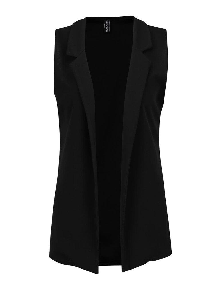 Černá vesta Madonna Caitlyn