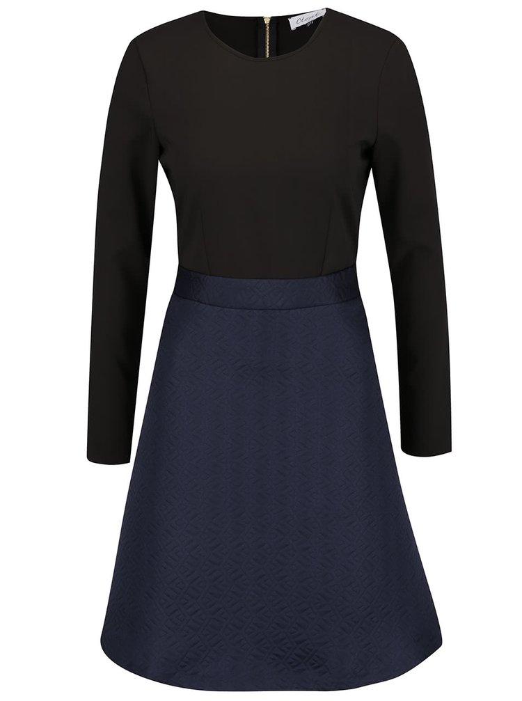 Rochie albastru & negru Closet cu model