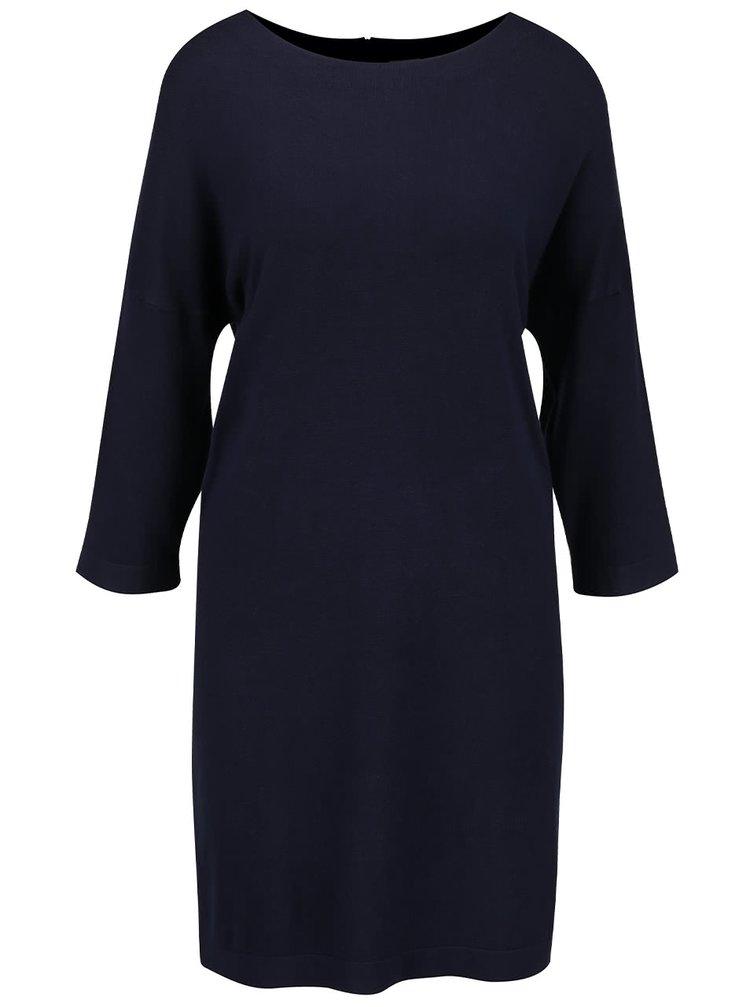 Tmavě modré svetrové šaty VERO MODA Glory