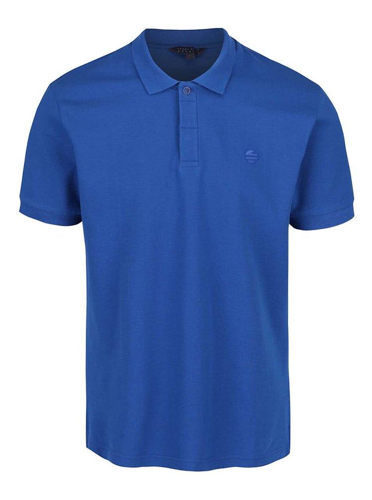 Tricou polo Perry Ellis Archive albastru pentru bărbați