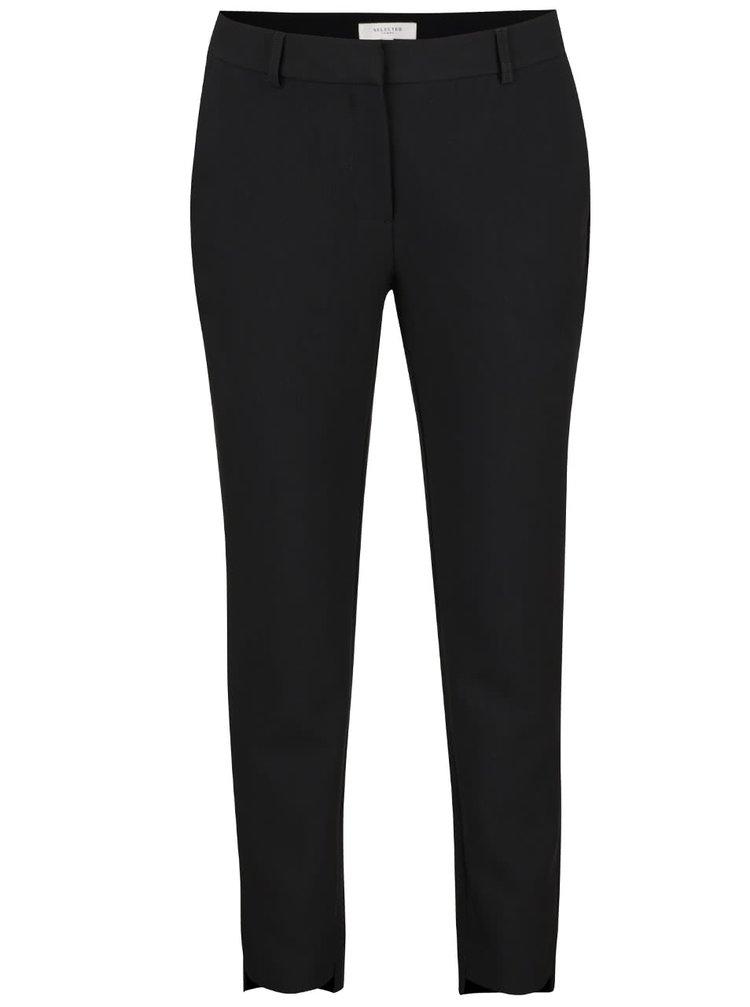 Černé formální kalhoty Selected Femme Amila