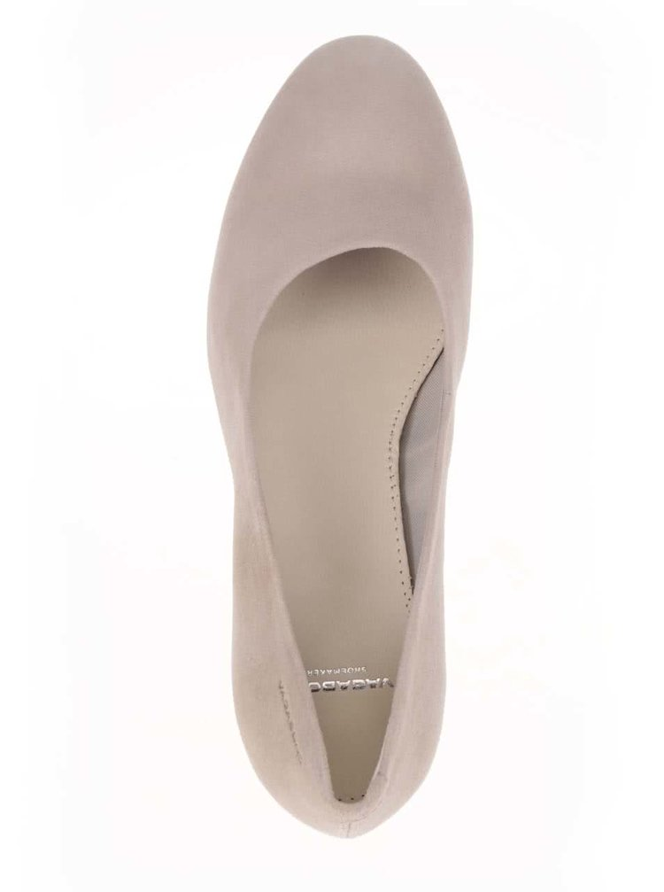 034bfdc282fb ... Béžové dámské boty na podpatku Vagabond Jamilla