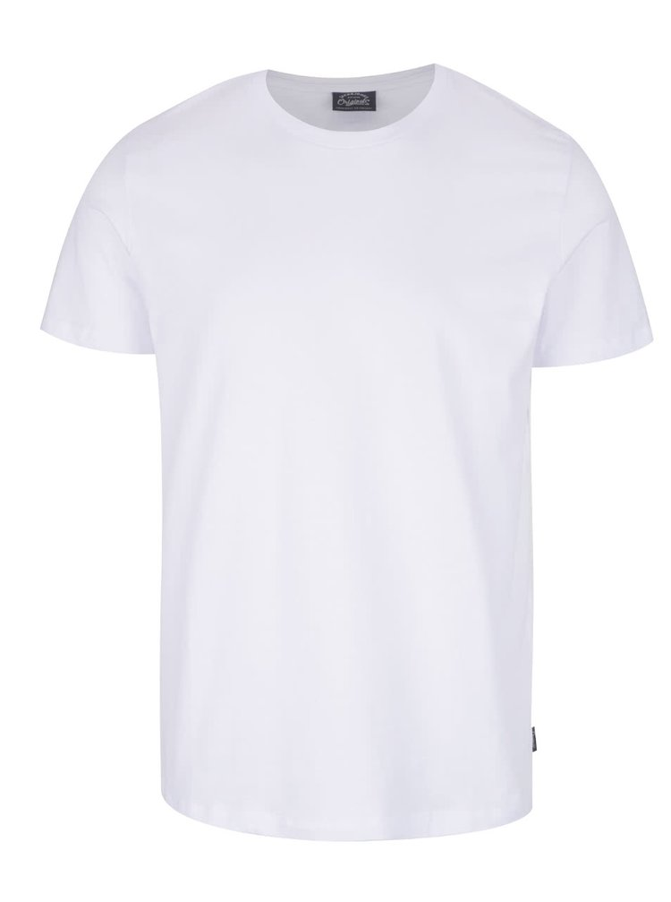 Tricou alb Jack & Jones Basic