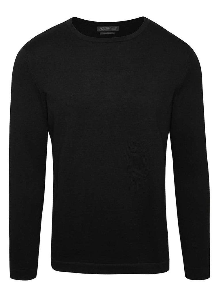 Čierny ľahký sveter Jack & Jones Basic