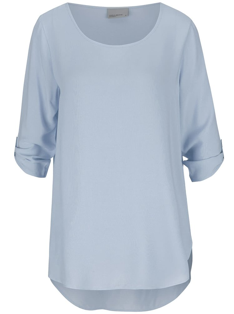 Bluză albastru deschis VERO MODA Boca