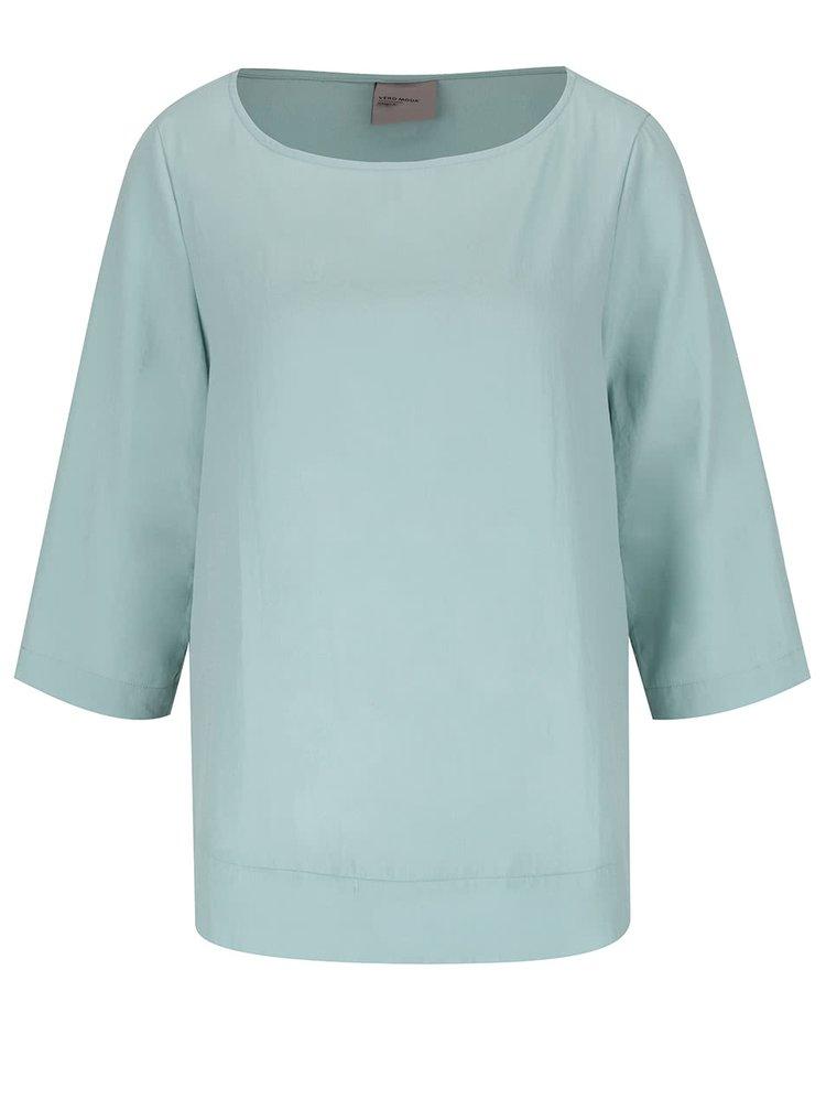 Bluză verde mint VERO MODA Cecilie
