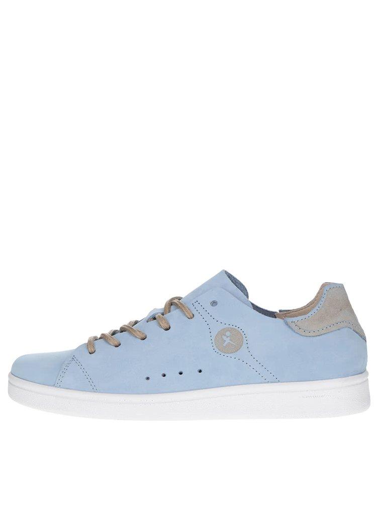 Modré kožené tenisky Tamaris · Modré kožené tenisky Tamaris b644aba46cd