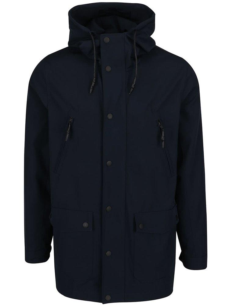 Tmavě modrá bunda s kapucí Lindbergh