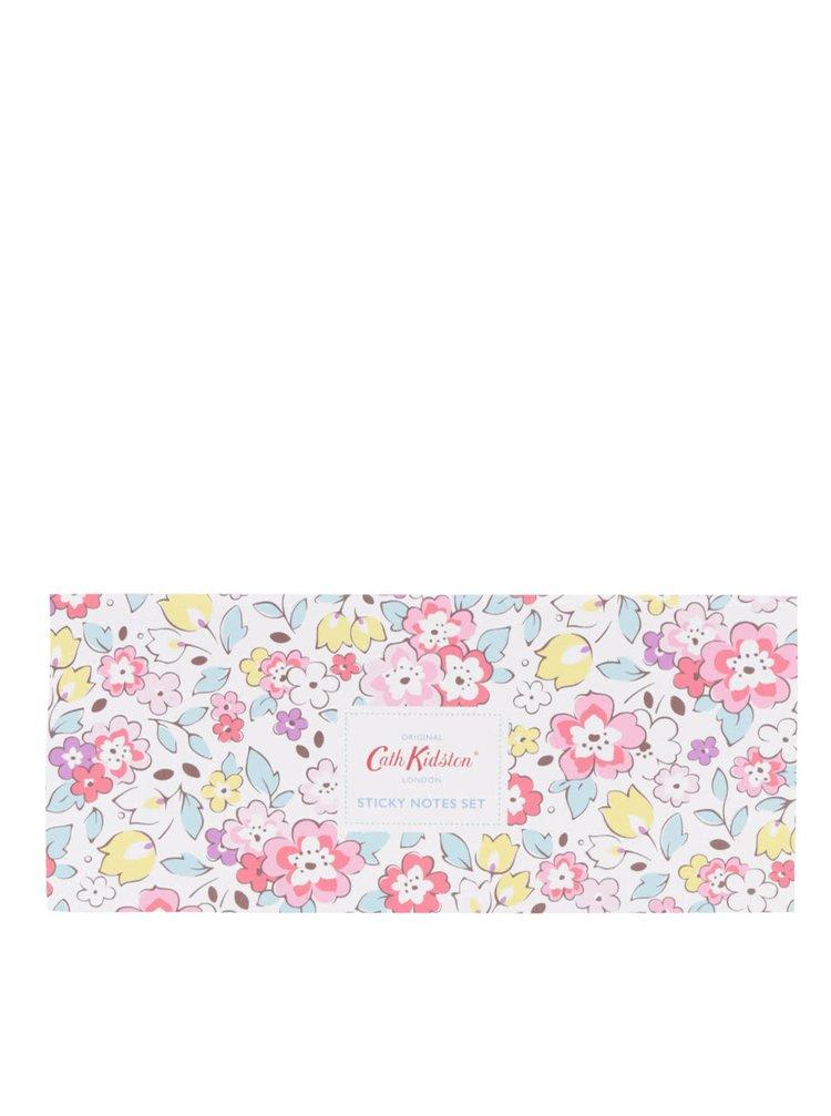 Sada nalepovacích papírků v květované krabičcce Cath Kidston