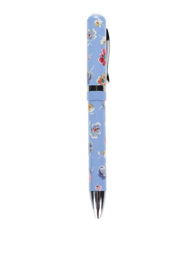 Modré květované kuličkové pero Cath Kidston
