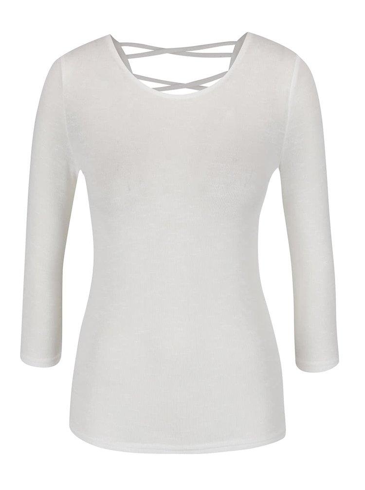 Krémové tričko s 3/4 rukávem Haily´s Anna