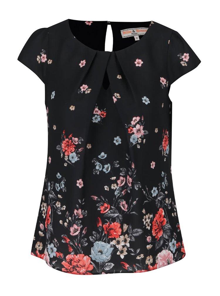 Bluză neagră Billie & Blossom Petite