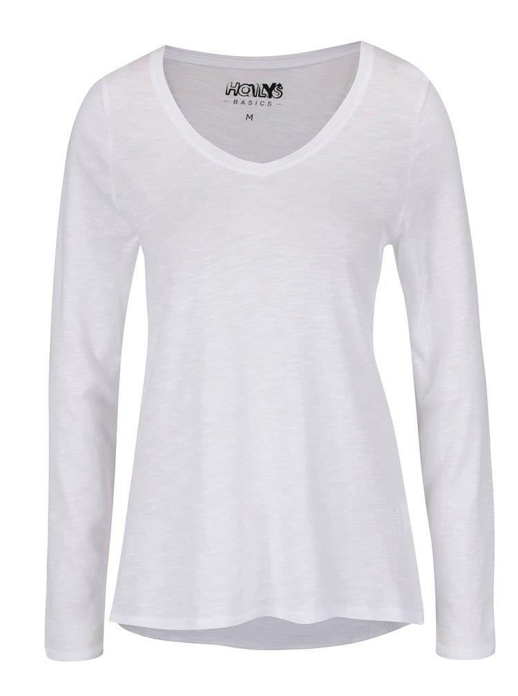 Bílé lehké basic tričko Haily's Janne