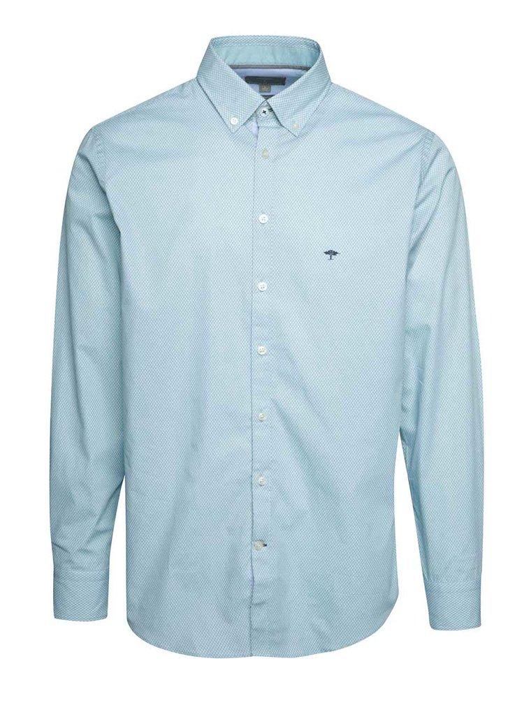 Modrozelená vzorovaná košile Fynch-Hatton