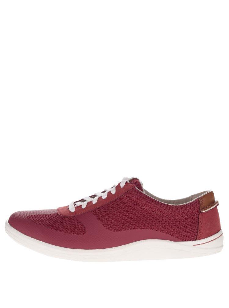 Pantofi sport roșii Clarks Mapped Vibe