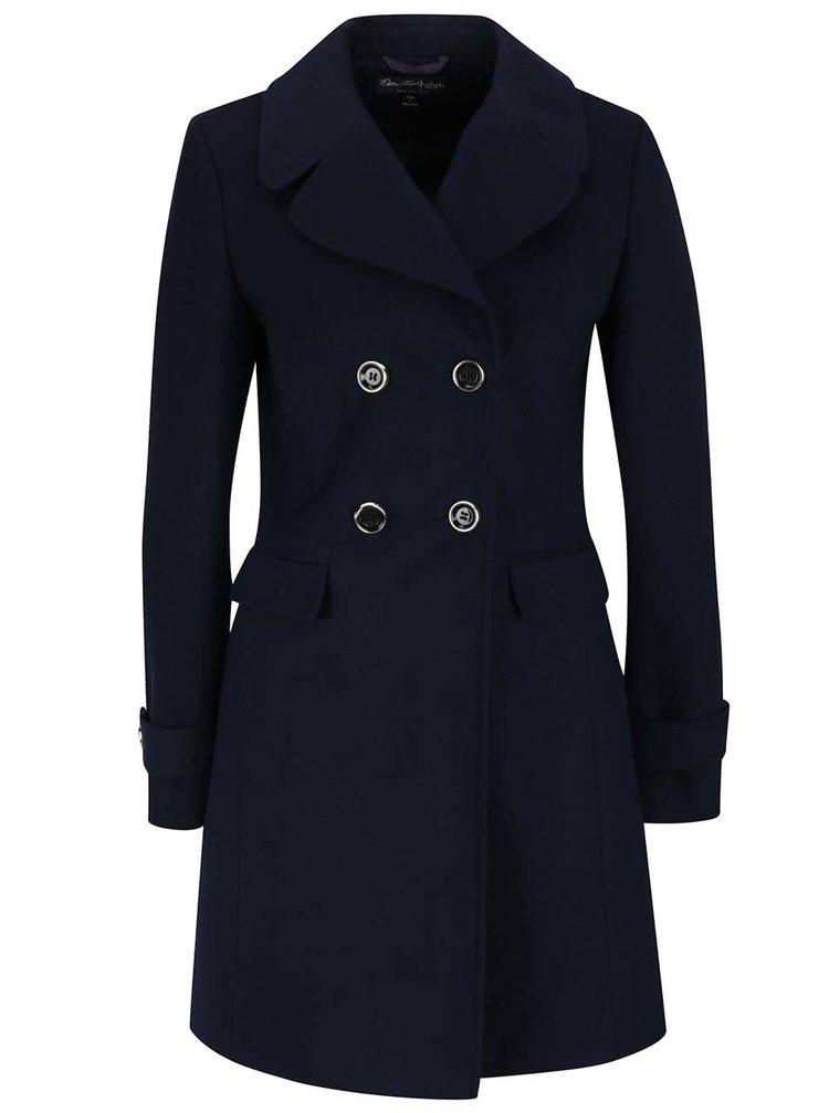 Tmavě modrý kabát Miss Selfridge