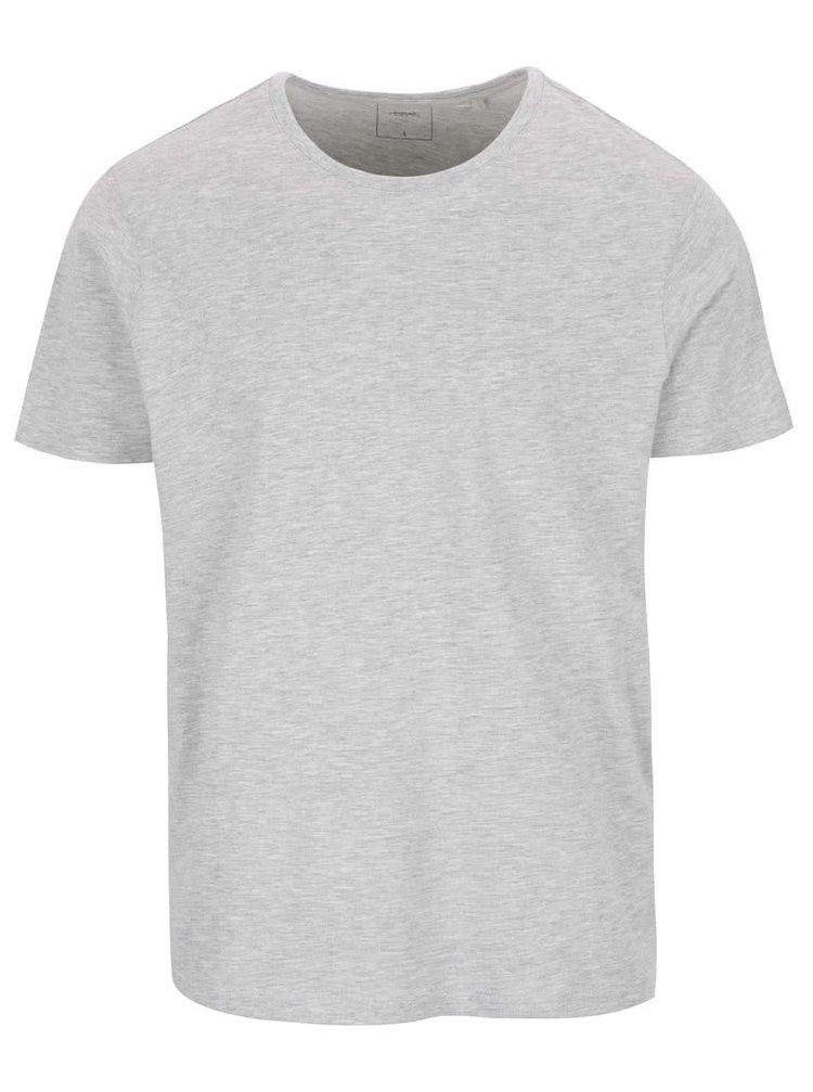 Světle šedé basic triko Burton Menswear London