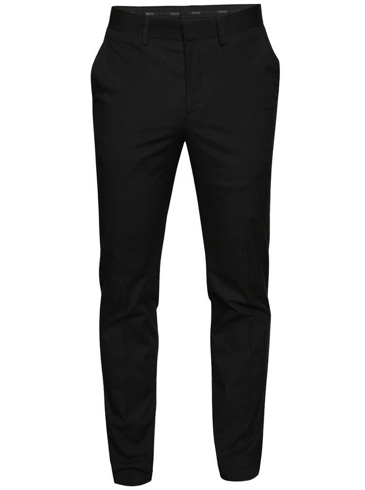 Černé chino kalhoty Jack & Jones Corban