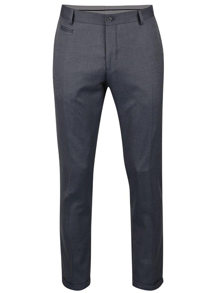 Šedé oblekové kalhoty Selected Homme Done-Louame