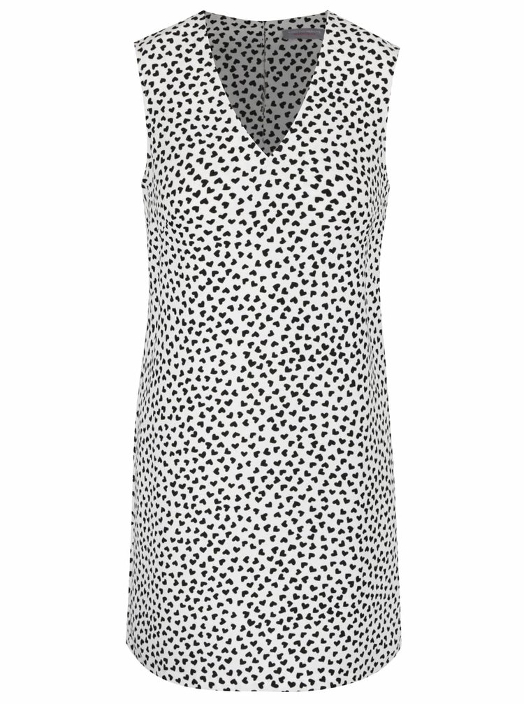 Krémové vzorované šaty Dorothy Perkins Petite
