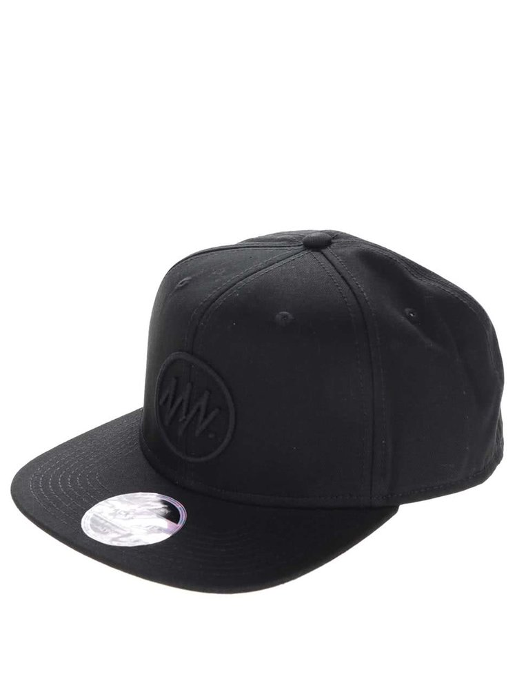 Șapcă snapback Jack & Jones Circle din bumbac cu logo în relief