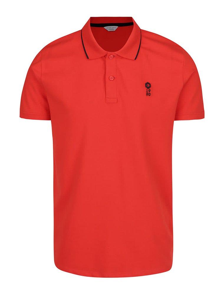 Červené polo triko Jack & Jones Stone