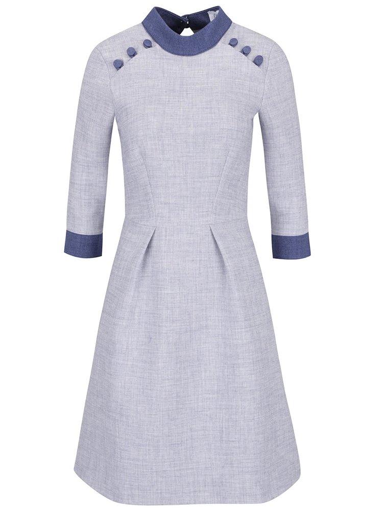 Modrosivé šaty Closet