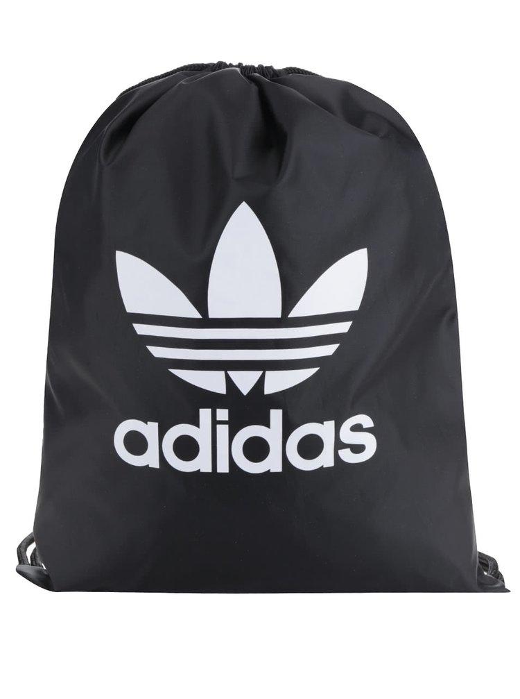 Čierny unisex vak s logom adidas Originals Trefoil