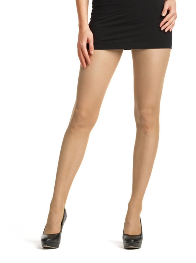 Sada dvou tělových punčochových kalhot Bellinda BB cream effect AMBER 12 DEN