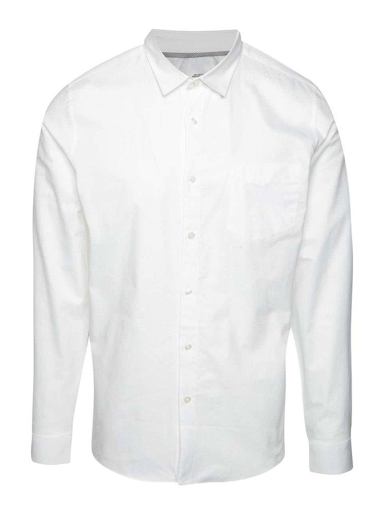 Camasa alba Burton Menswear London din bumbac
