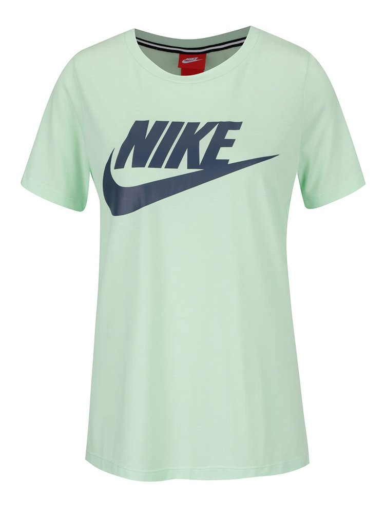 Tricou verde Nike Sportswear Essential regular fit cu logo
