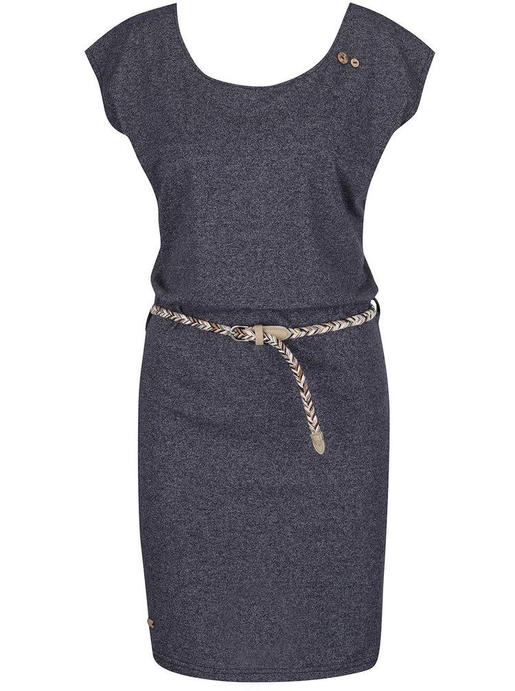 Tmavě šedé šaty s pásky na zádech Ragwear Sofia Dress
