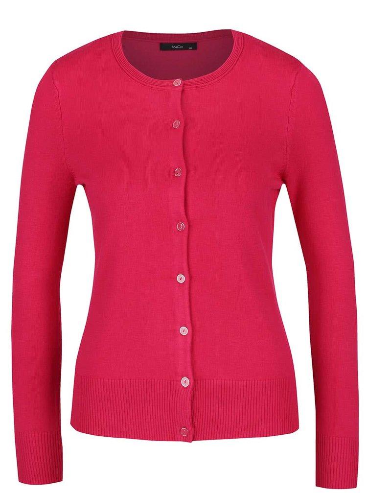 Růžový dámský cardigan M&Co