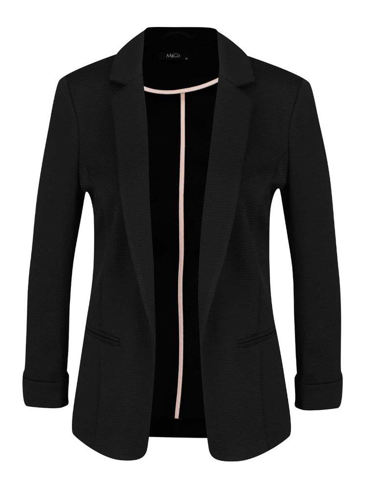 Černé dámské sako M&Co