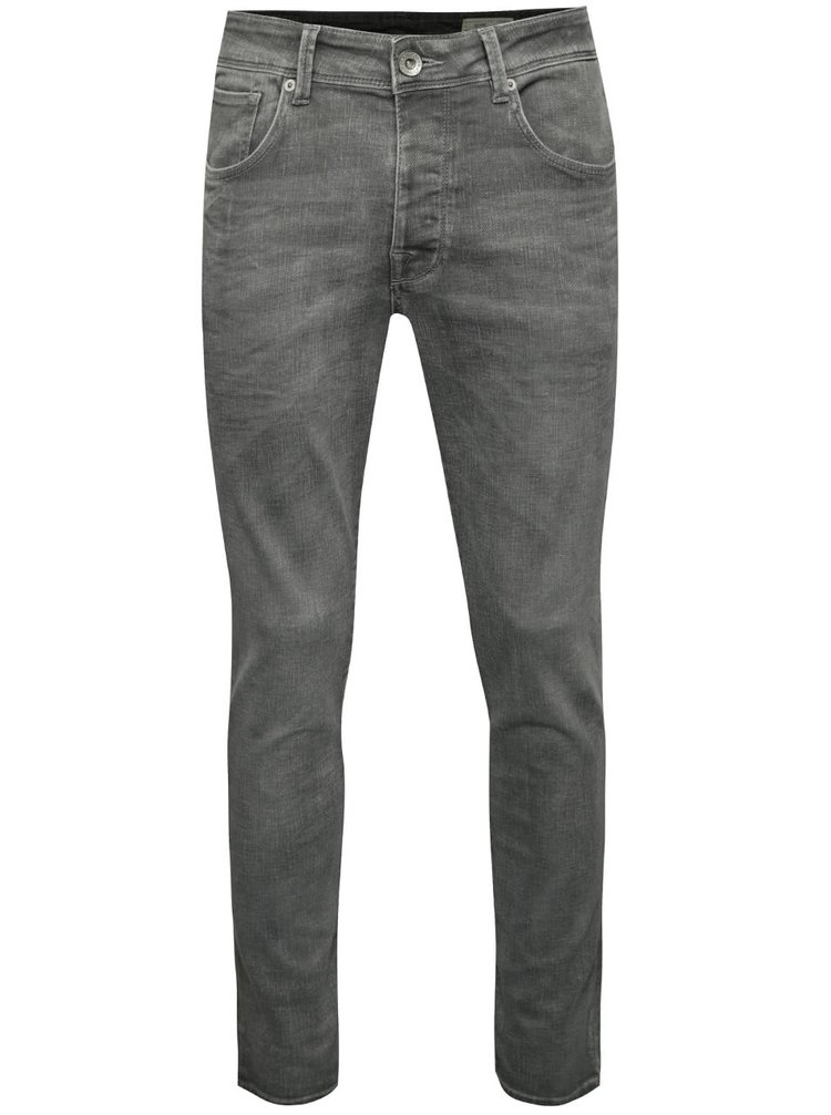 Blugi gri Selected Homme One Fabios