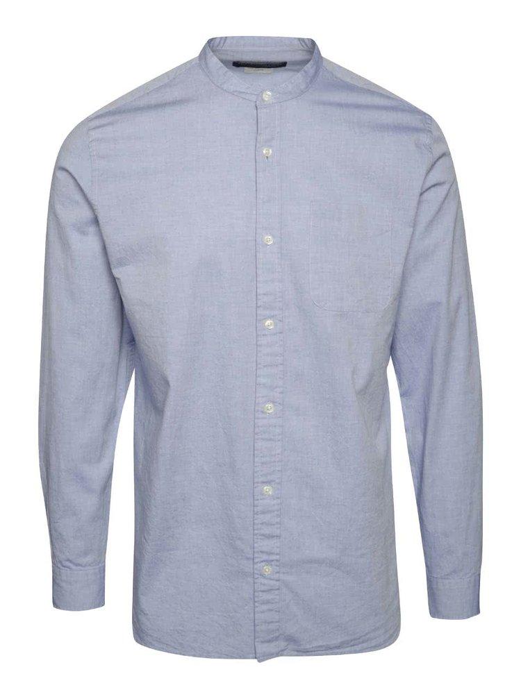Modrá košile Jack & Jones Kevin