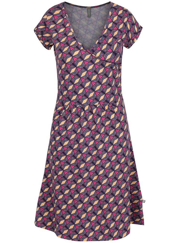 Šedé vzorované šaty Tranquillo Talia