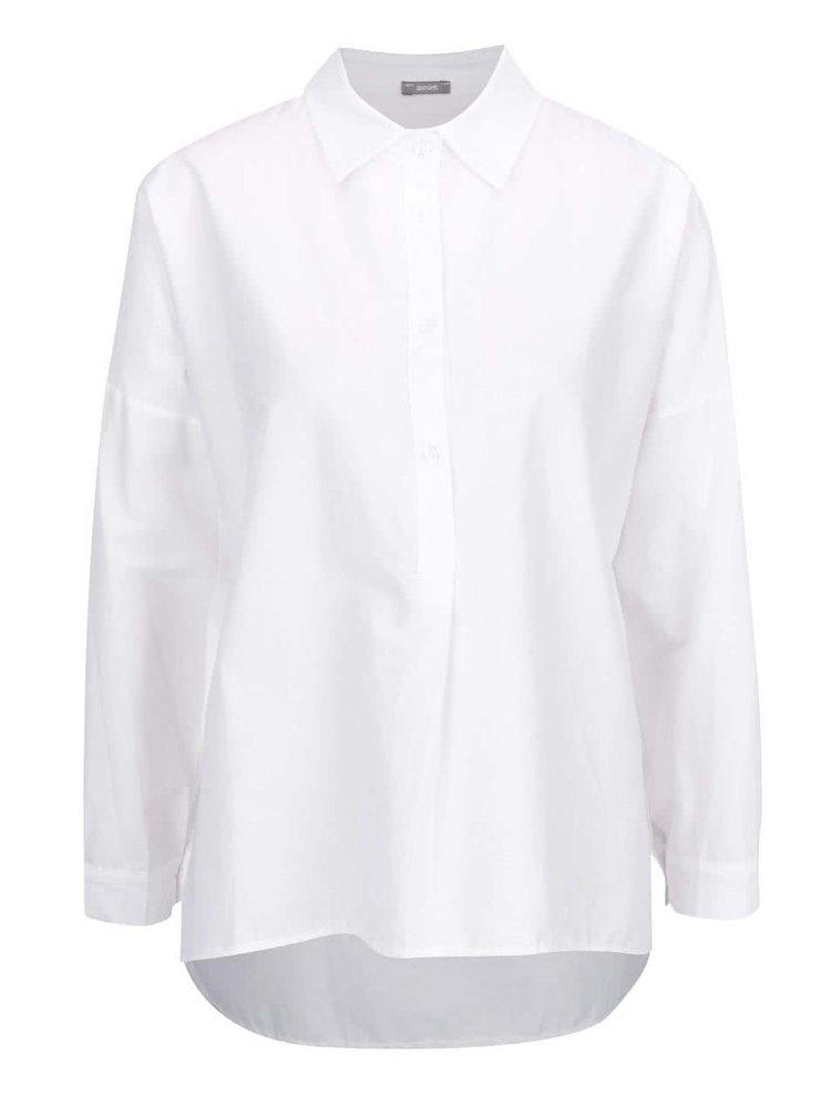 Bílá oversize halenka s límečkem ZOOT