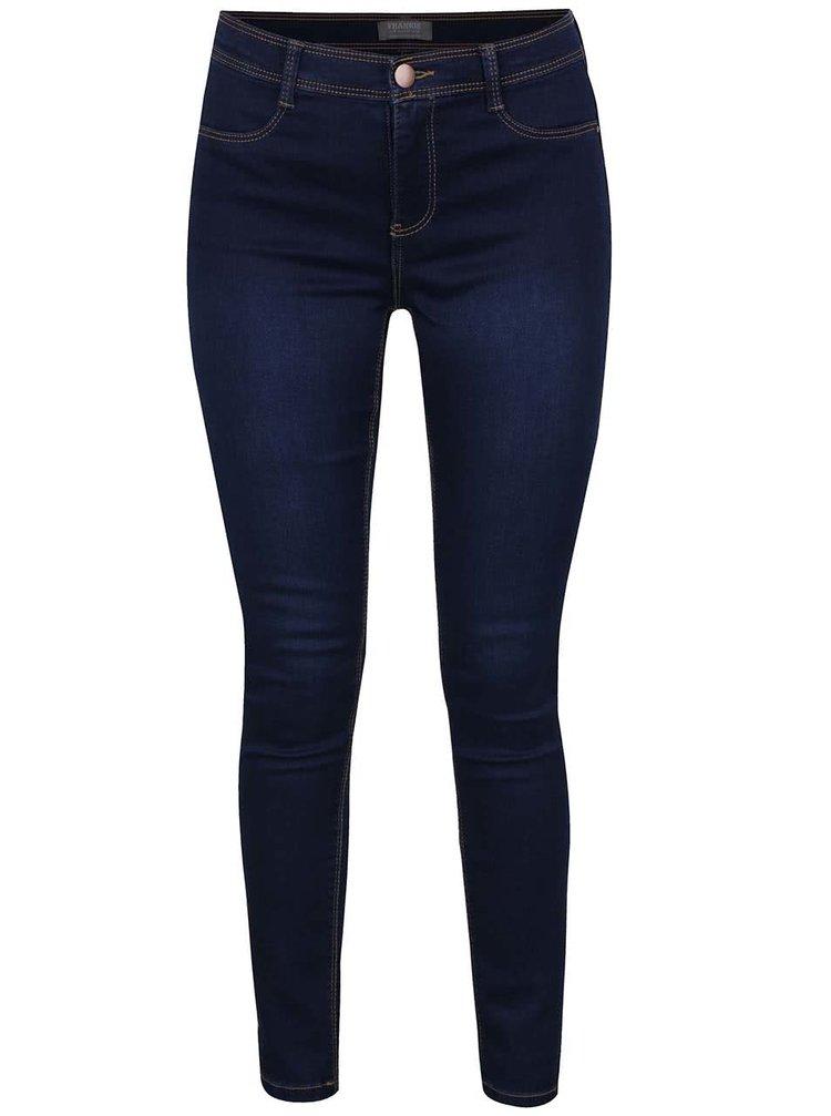 Tmavě modré ultra soft džíny Dorothy Perkins