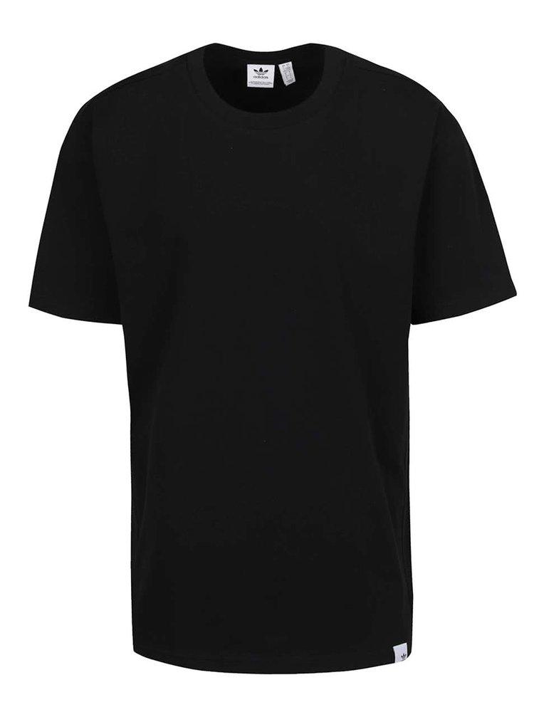 Černé pánské triko s reflexním prvkem adidas Originals X By