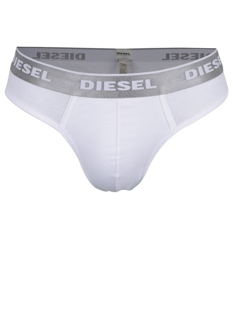 Bílé slipy Diesel