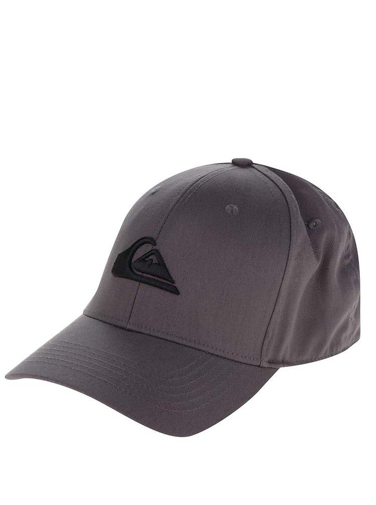 Șapcă gri Quiksilver cu logo