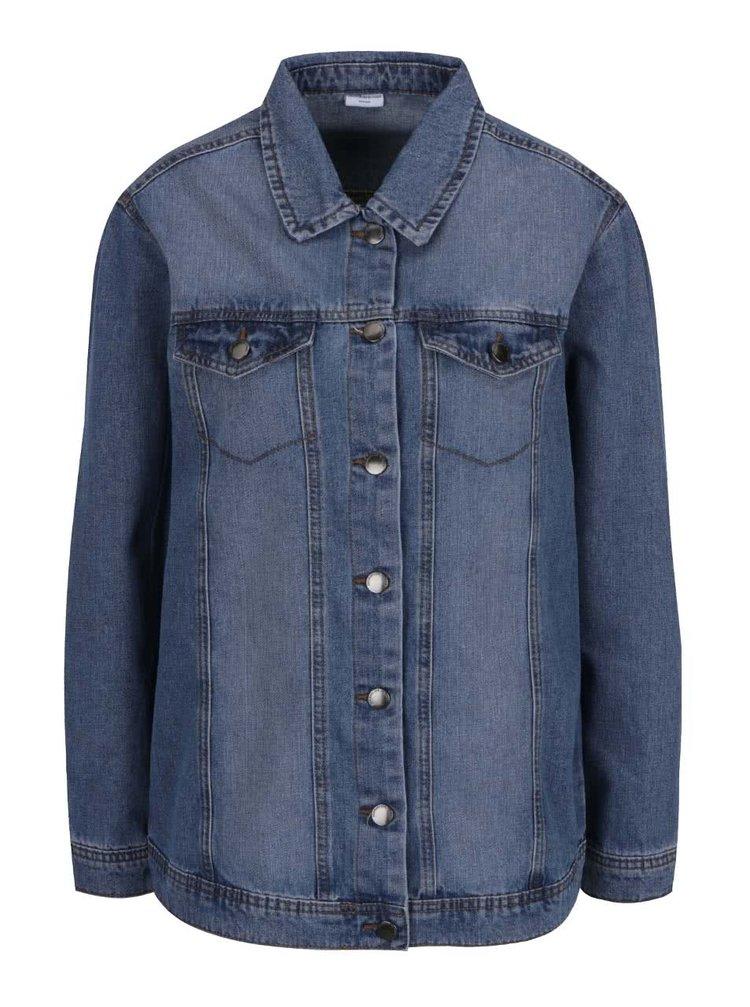 Modrá džínová bunda Jacqueline de Yong Ashley