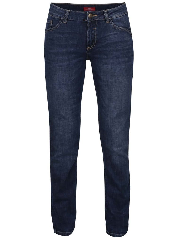 Tmavě modré dámské džíny s.Oliver