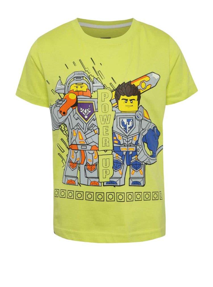 Žluté klučičí triko s potiskem LEGO Wear