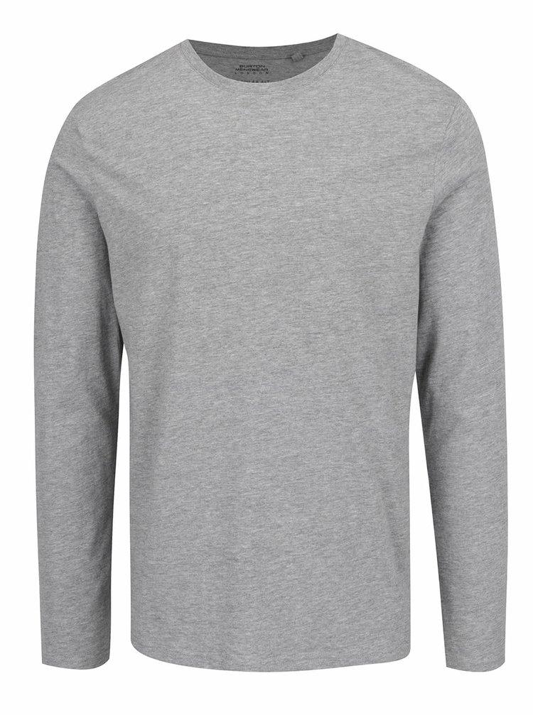 Šedé pánské basic tričko Burton Menswear London