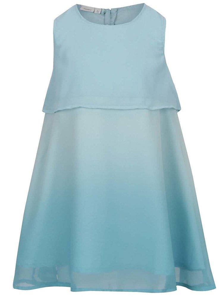 Světle modré holčičí šaty bez rukávů name it Isabella