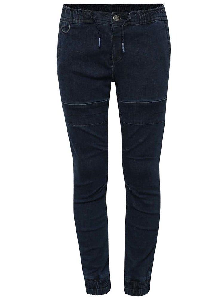 Tmavě modré klučičí džíny s pružným pasem 5.10.15.