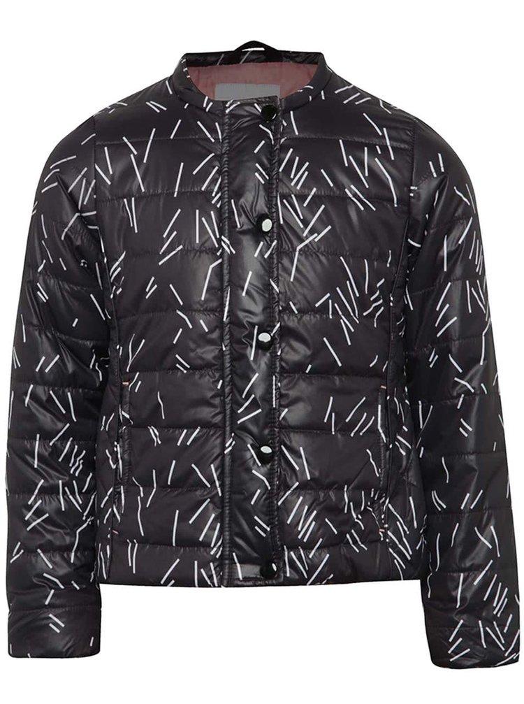 Jachetă neagră 5.10.15. cu model pentru fete