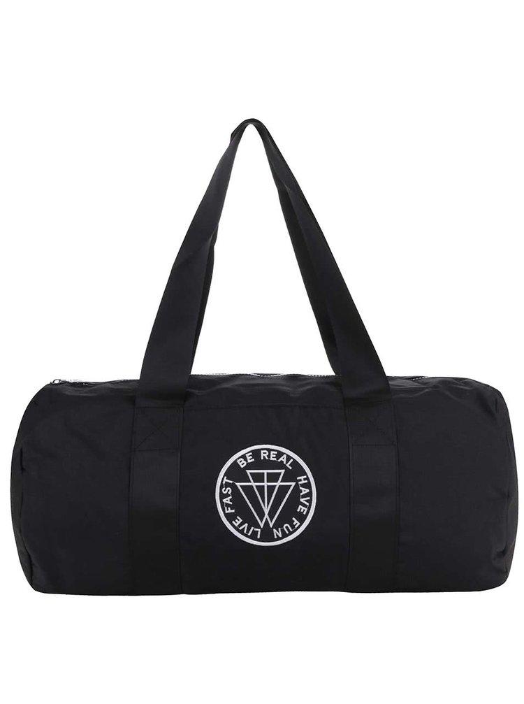 Černá sportovní taška TALLY WEiJL